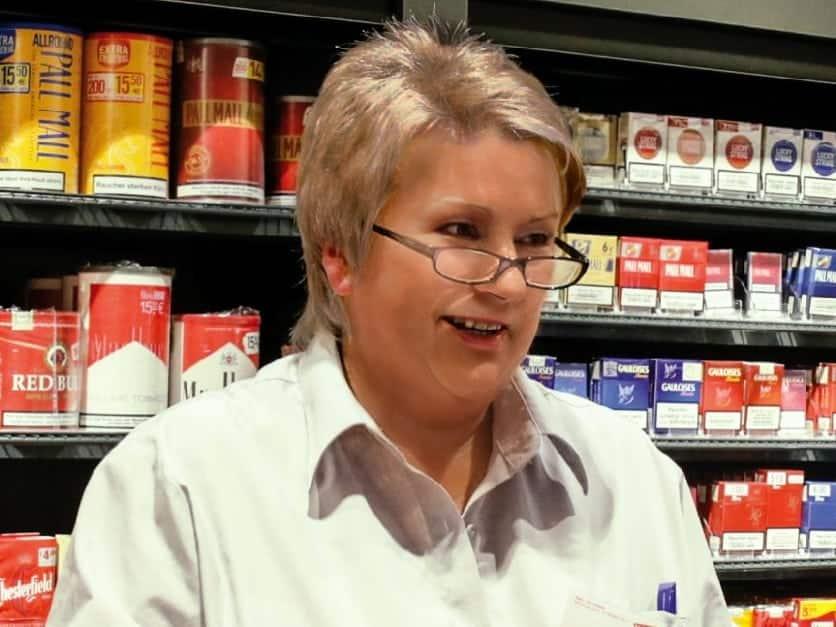 Kriminelle Tabakverkäuferin an der Kasse für Inventurdifferenz verantwortlich