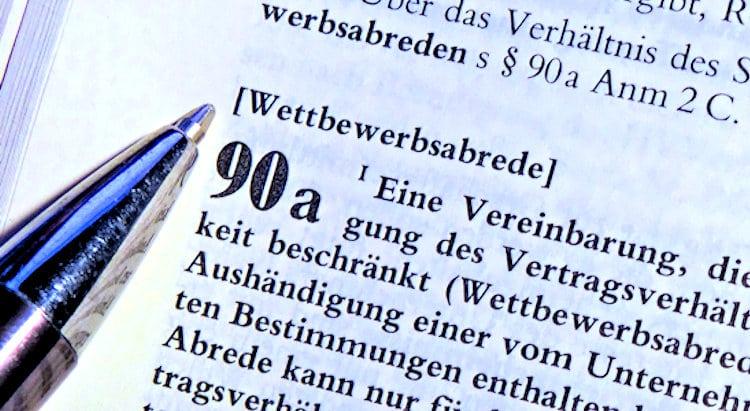 § 90a HGB Gesetzestext Wettbewerbsabrede - Detektive ermitteln bei Wettbewerbsverstoß
