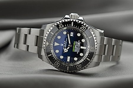 Korruption: Rolex Luxus Herren Armbanduhr