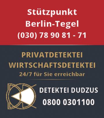 Detektei Reinickendorf Tel.: +49 30 789081-71