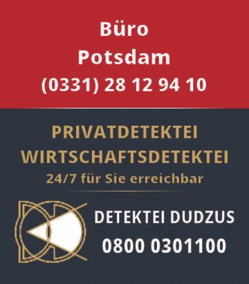 Kontaktdaten Detektei Potsdam Tel: 0331-28129410