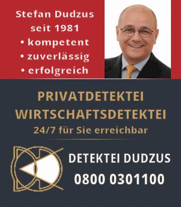 Detektiv Stefan Dudzus Detektei Berlin 08000301100